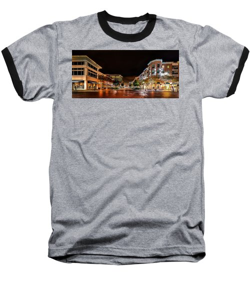 Sugar Land Town Square Baseball T-Shirt