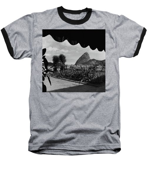Sugarloaf Mountain Seen From The Patio At Carlos Baseball T-Shirt
