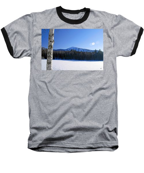 Sugarloaf Usa Baseball T-Shirt by Alana Ranney