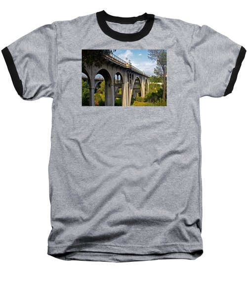 Suicide Bridge Baseball T-Shirt