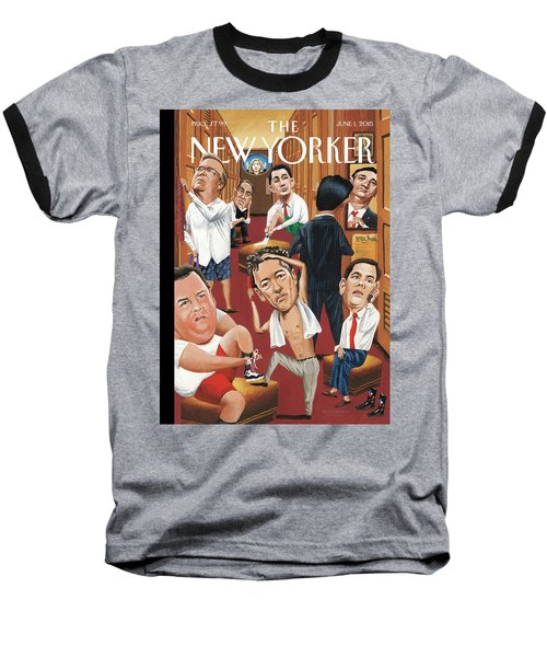 Suiting Baseball T-Shirt