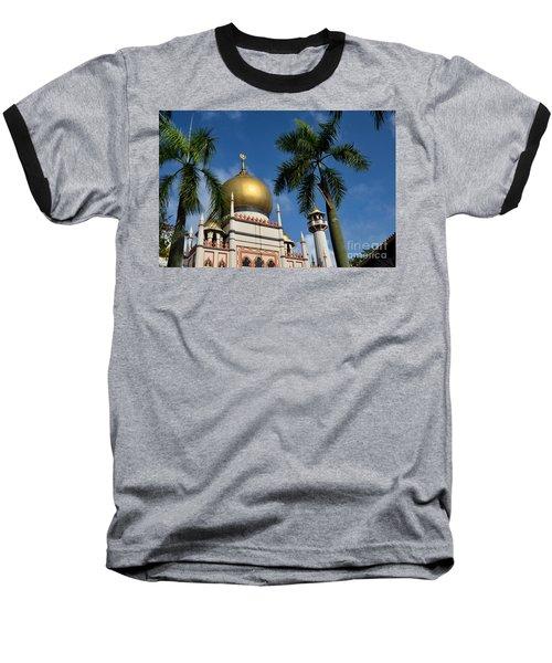 Sultan Masjid Mosque Singapore Baseball T-Shirt