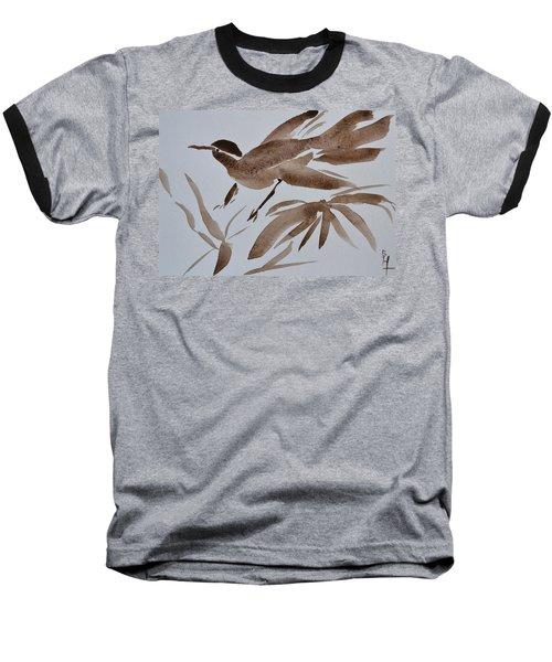 Sumi Bird Baseball T-Shirt