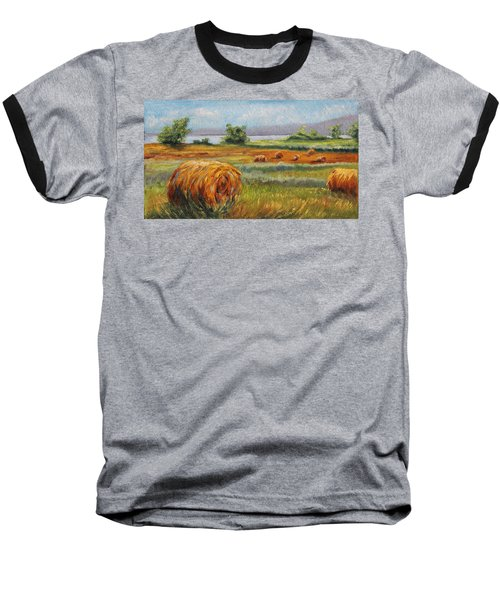 Summer Bales Baseball T-Shirt