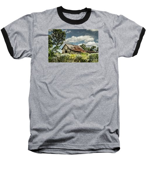 Baseball T-Shirt featuring the photograph Summer Barn by Debbie Green