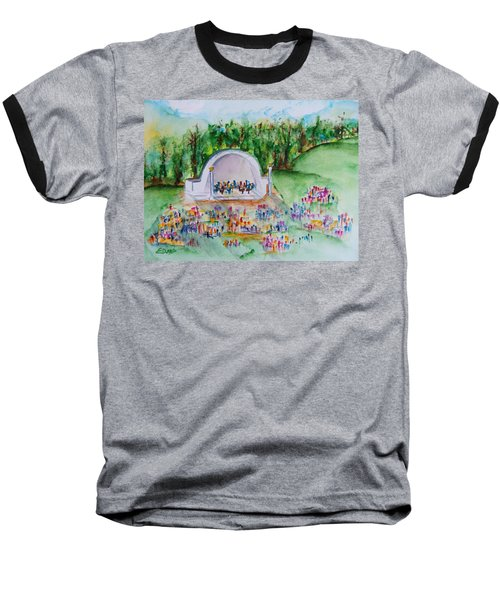 Summer Concert In The Park Baseball T-Shirt