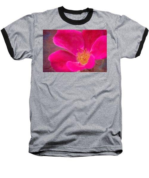 Summer Delight My Pink Rose Baseball T-Shirt