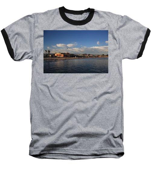 Summer Evenings In Santa Cruz Baseball T-Shirt by Laurie Search