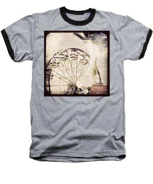 Baseball T-Shirt featuring the photograph Summer Fun by Trish Mistric