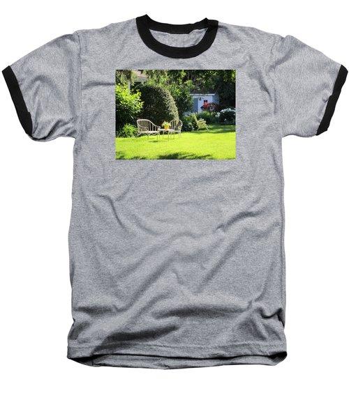 Baseball T-Shirt featuring the photograph Summer Garden by Jieming Wang