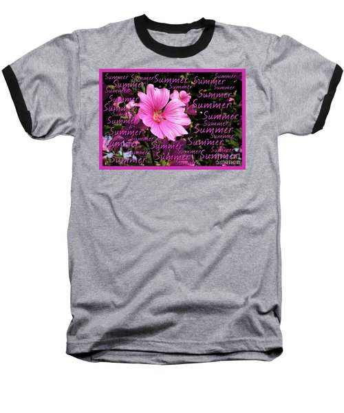 Summer Greetings Baseball T-Shirt