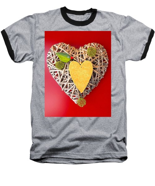 Baseball T-Shirt featuring the photograph Summer Heart by Juergen Weiss