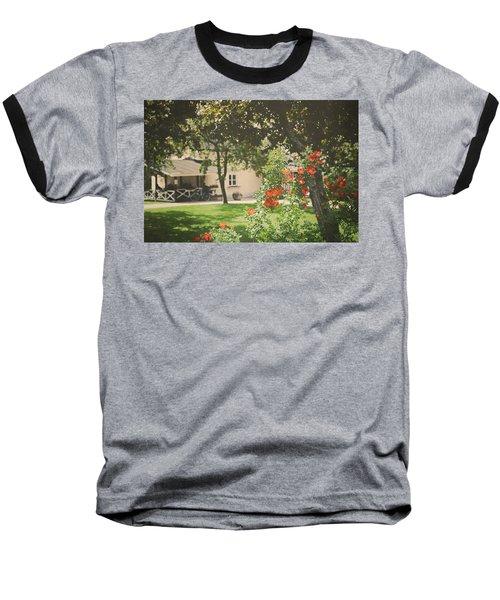 Baseball T-Shirt featuring the photograph Summer In The Park by Ari Salmela