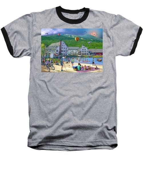 Summer In Waterville Valley Baseball T-Shirt