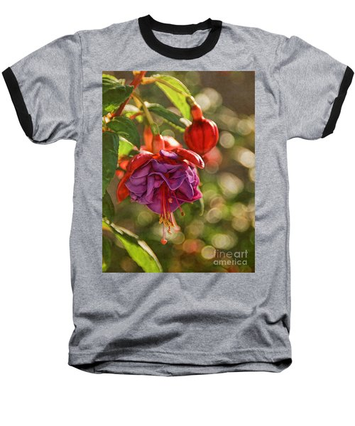 Baseball T-Shirt featuring the photograph Summer Jewels by Peggy Hughes