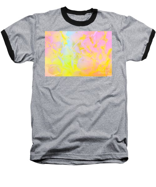 Baseball T-Shirt featuring the photograph Summer Joy Abstract by Judy Palkimas