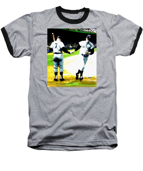 Summer Of The Gods  Iv 1961 Mickey Mantle Baseball T-Shirt by Iconic Images Art Gallery David Pucciarelli