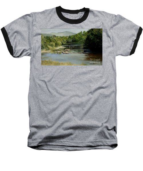 Summer On The River In Vermont Baseball T-Shirt