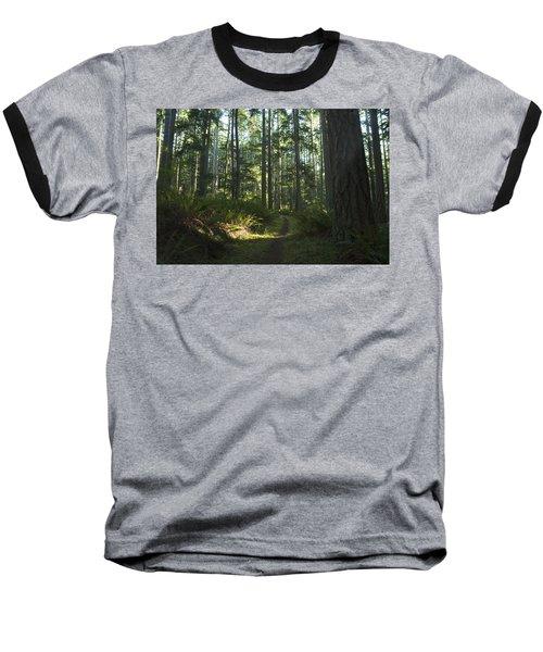 Summer Pacific Northwest Forest Baseball T-Shirt