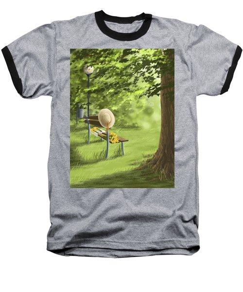 Summer Paradise Baseball T-Shirt