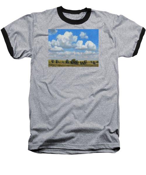 Summer Pasture Baseball T-Shirt by Bruce Morrison
