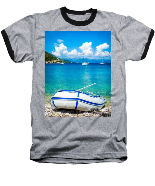 Summer Sailing In The Med Baseball T-Shirt