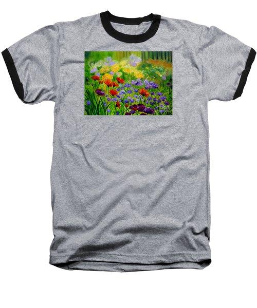 Summer Show Baseball T-Shirt by Julie Brugh Riffey