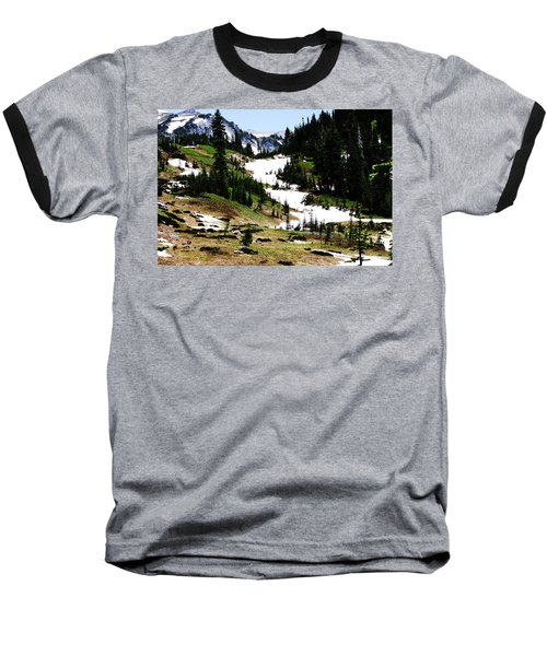 Summer Snow Baseball T-Shirt