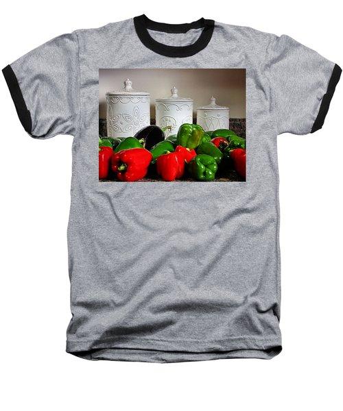 Summer Still Life Baseball T-Shirt by Kristin Elmquist