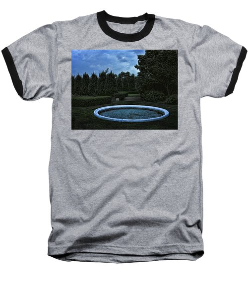 Summer Storm Coming Bahai Temple Baseball T-Shirt by John Hansen