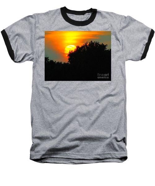 Summer Sunset #3 Baseball T-Shirt