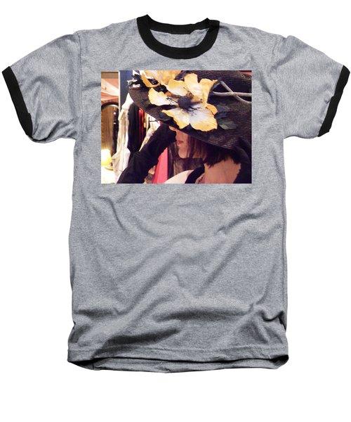 Summer Tease Baseball T-Shirt by David Trotter