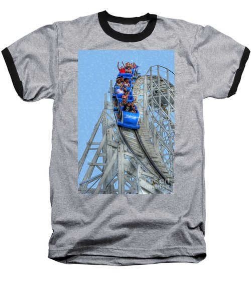 Summer Time Thriller Baseball T-Shirt by Juli Scalzi