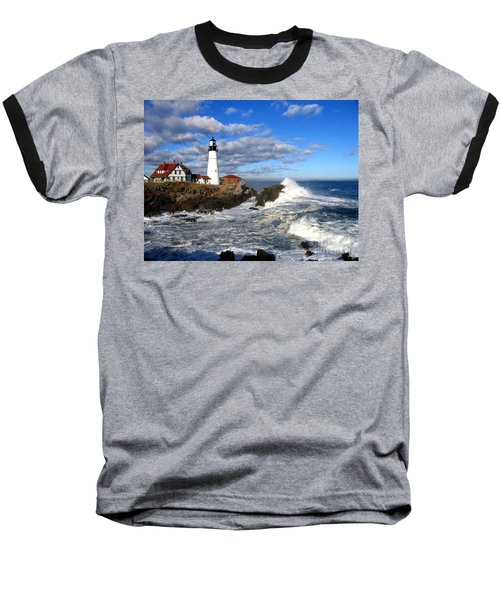 Summer Waves Baseball T-Shirt