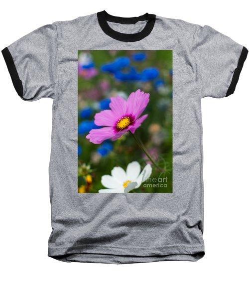Baseball T-Shirt featuring the photograph Summer Wild Blooms by Matt Malloy
