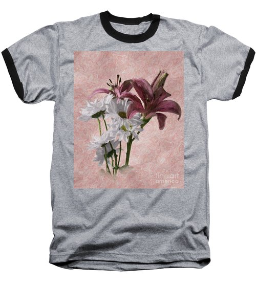 Summer Wild Flowers 3 Baseball T-Shirt