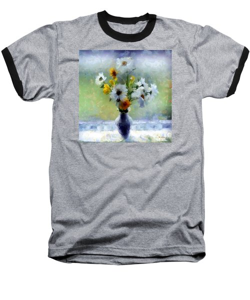 Summerstorm Still Life Baseball T-Shirt by RC deWinter