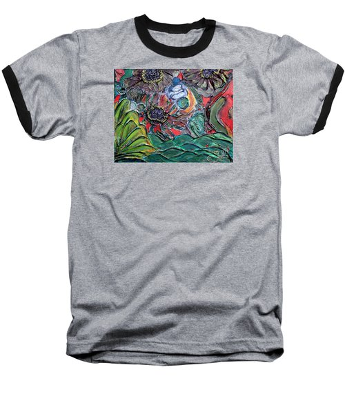 Summertime Bliss.. Baseball T-Shirt by Jolanta Anna Karolska