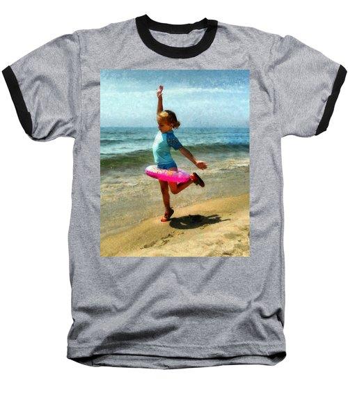 Summertime Girl Baseball T-Shirt
