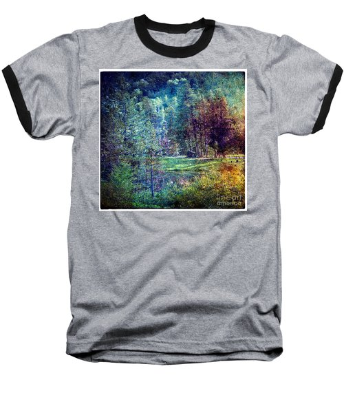 Summertime In Vail Baseball T-Shirt by Madeline Ellis