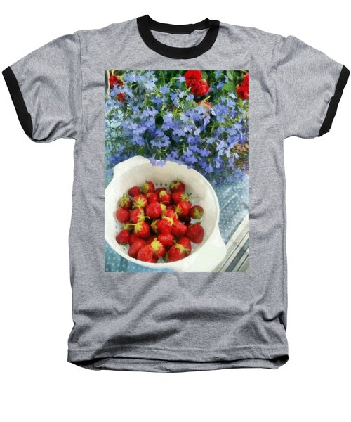 Summertime Table Baseball T-Shirt