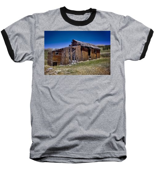 Summitville - Colorado Ghost Town Baseball T-Shirt