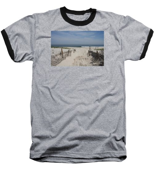 Sun And Sand Baseball T-Shirt