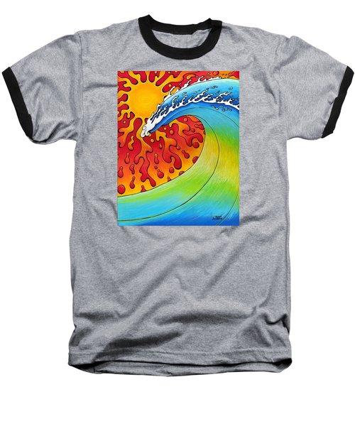 Sun And Surf Baseball T-Shirt