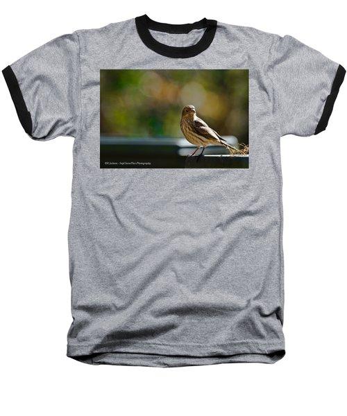 Baseball T-Shirt featuring the photograph Sun Bathing by Robert L Jackson
