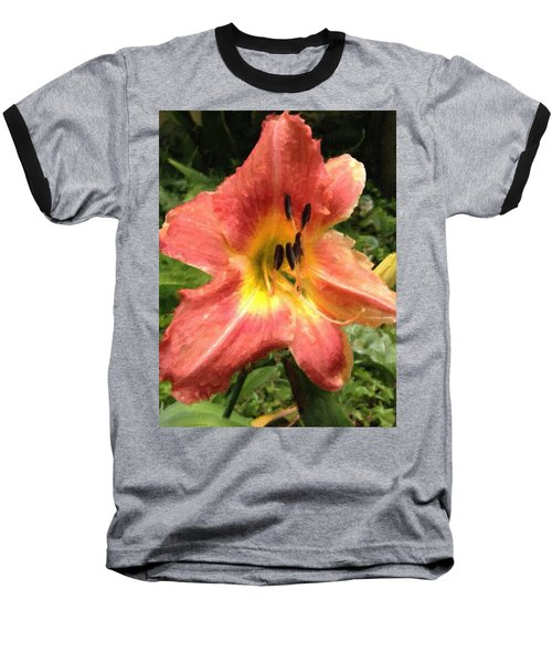 Sun Day Lilly  Baseball T-Shirt