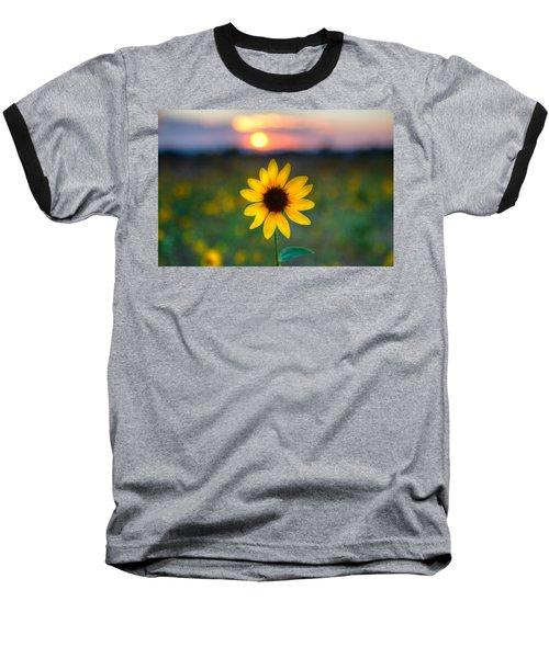 Sun Flower Iv Baseball T-Shirt
