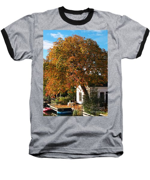 Sun Leaves Baseball T-Shirt