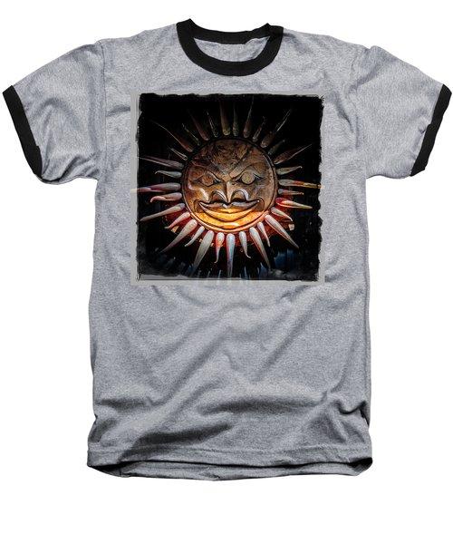 Sun Mask Baseball T-Shirt