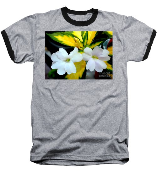 Sun Patiens Spreading White Variagated Baseball T-Shirt